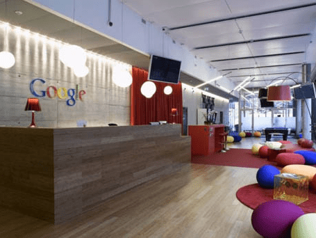 Inspiring Office Design The Google Workplace Business Interiors
