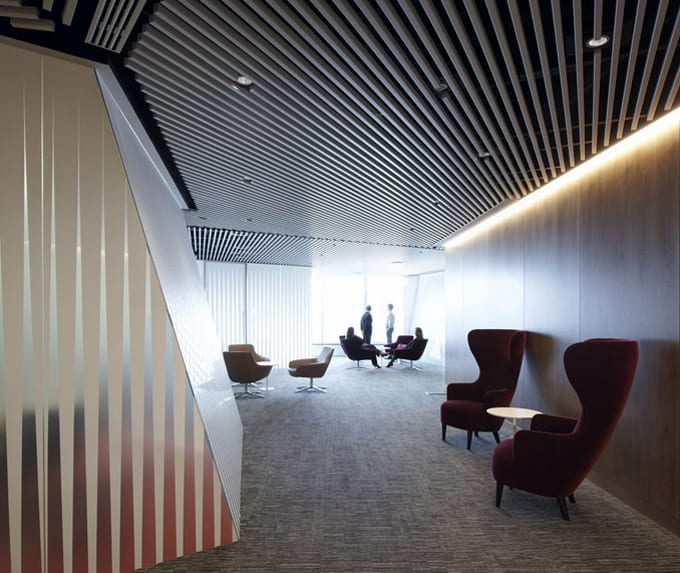 Cool Office Design   The Worlds Best Office Interiors   No.9 Macquarie  Bank, London, Ropemaker   Office Design News   Business Interiors