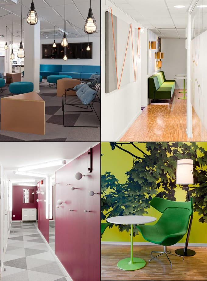 office design world best office interiors skype sweden more breakout