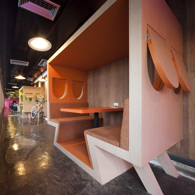 Cool office design the world 39 s best office interiors for Best office design in the world