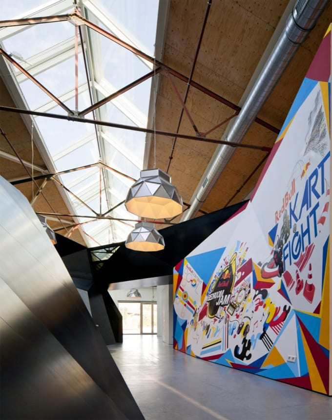 crazy office design the worlds best office interiors no 7 red bull amsterdam - Crazy Interior Design
