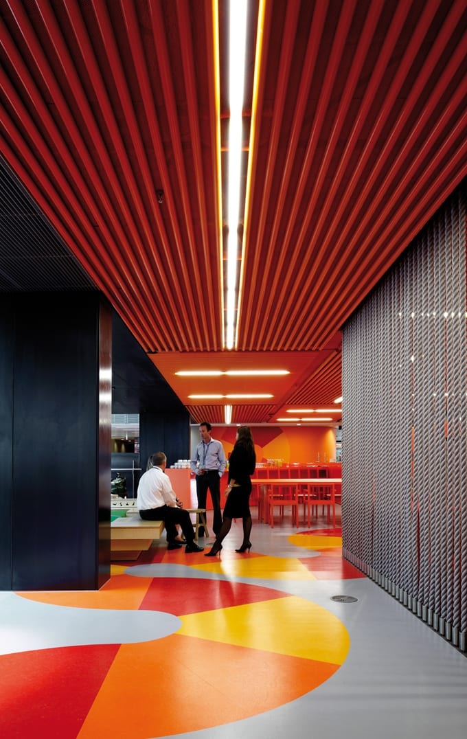 Inspiring office design the world39s best office for Office interiors melbourne