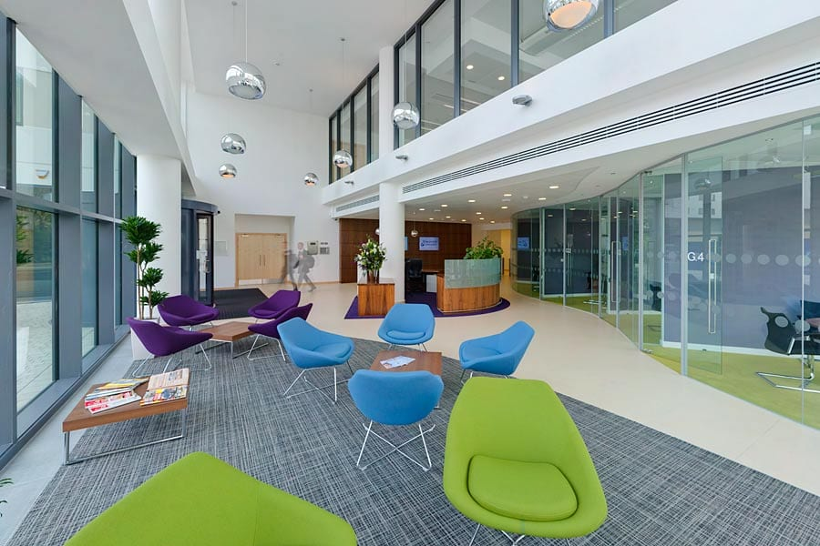 Hargreaves lansdown new bristol office interiors project for Office design bristol