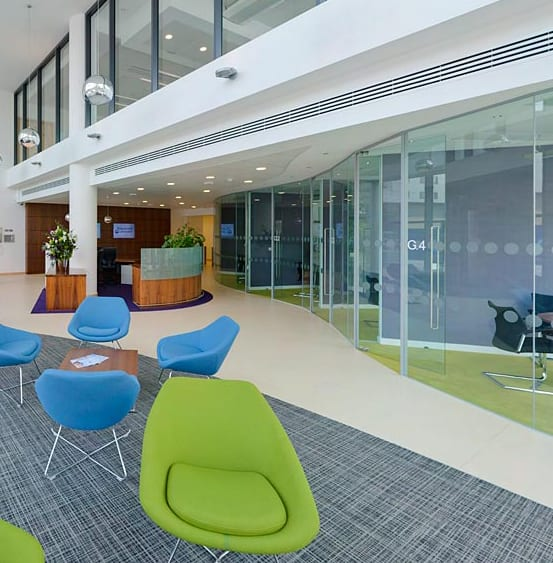 Hargreaves lansdown expands with bristol office furniture for Office design bristol