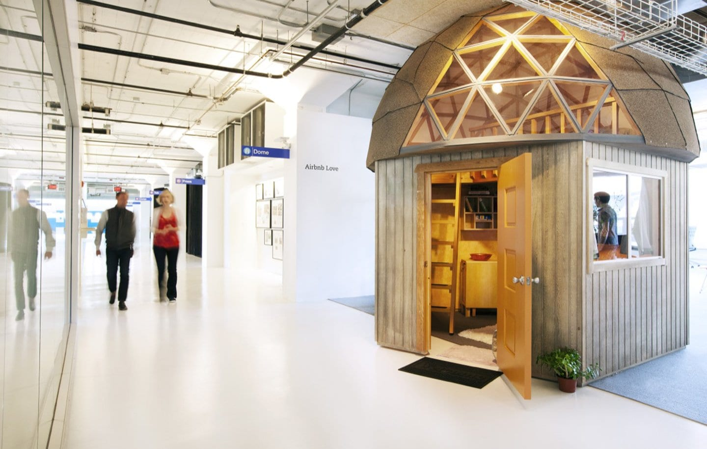 airbnb cool office design dome office interiors beehive shed airbnb cool office design