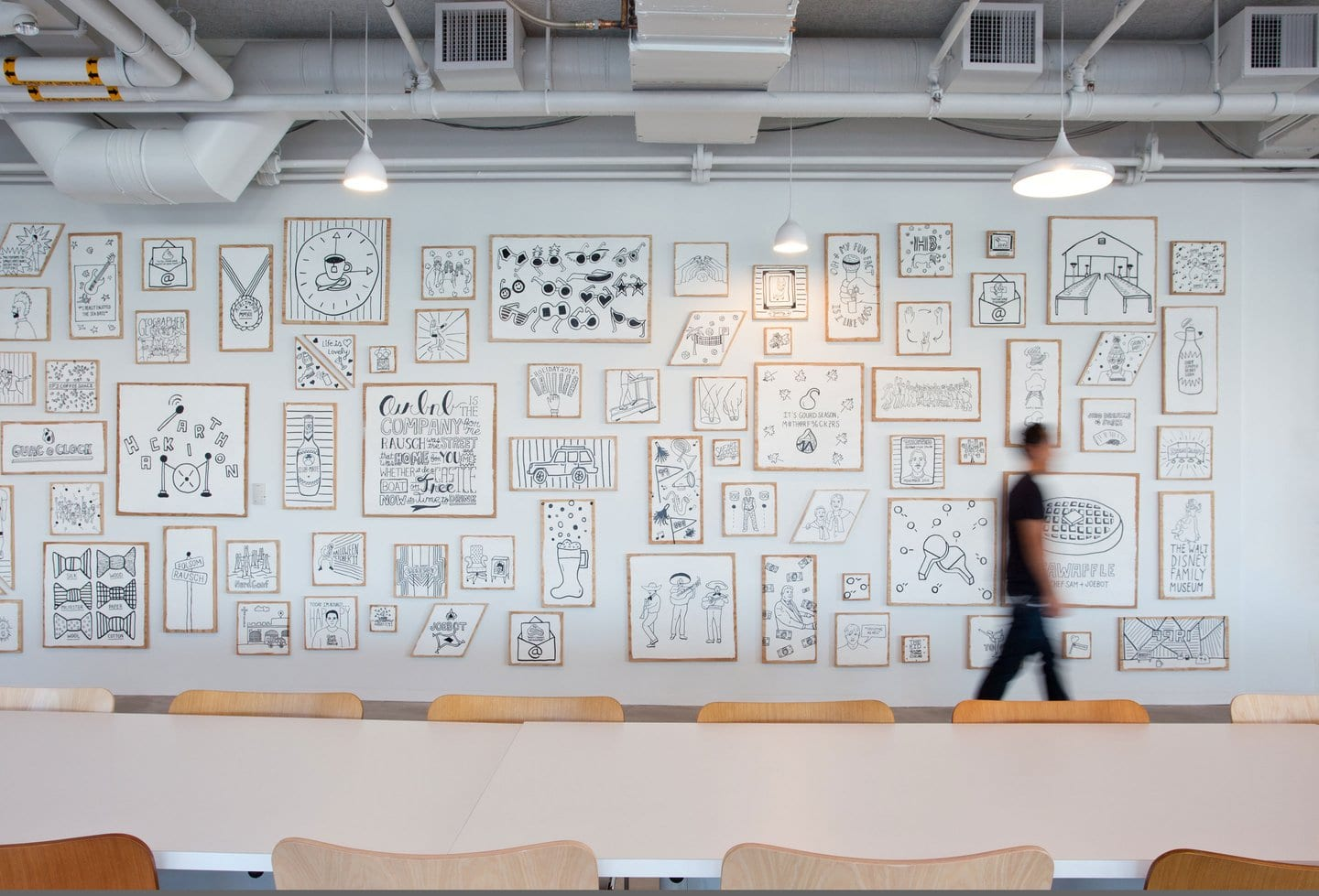 Airbnb leads inspirational office arms race with Strangelove