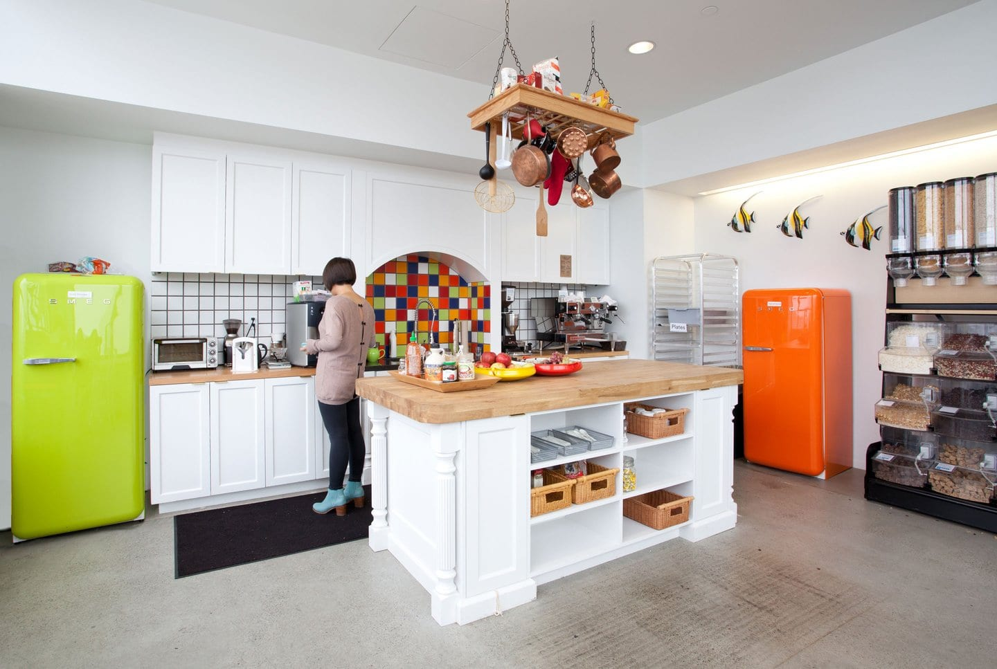 Airbnb kitchen cool office design office interiors for Office design 2013