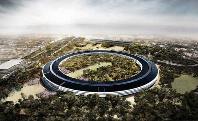 apple-new-corporate-headquarters-cupertino-aerial-shot-spaceship