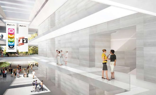 New apple headquarters the best office building in the for Best office design in the world