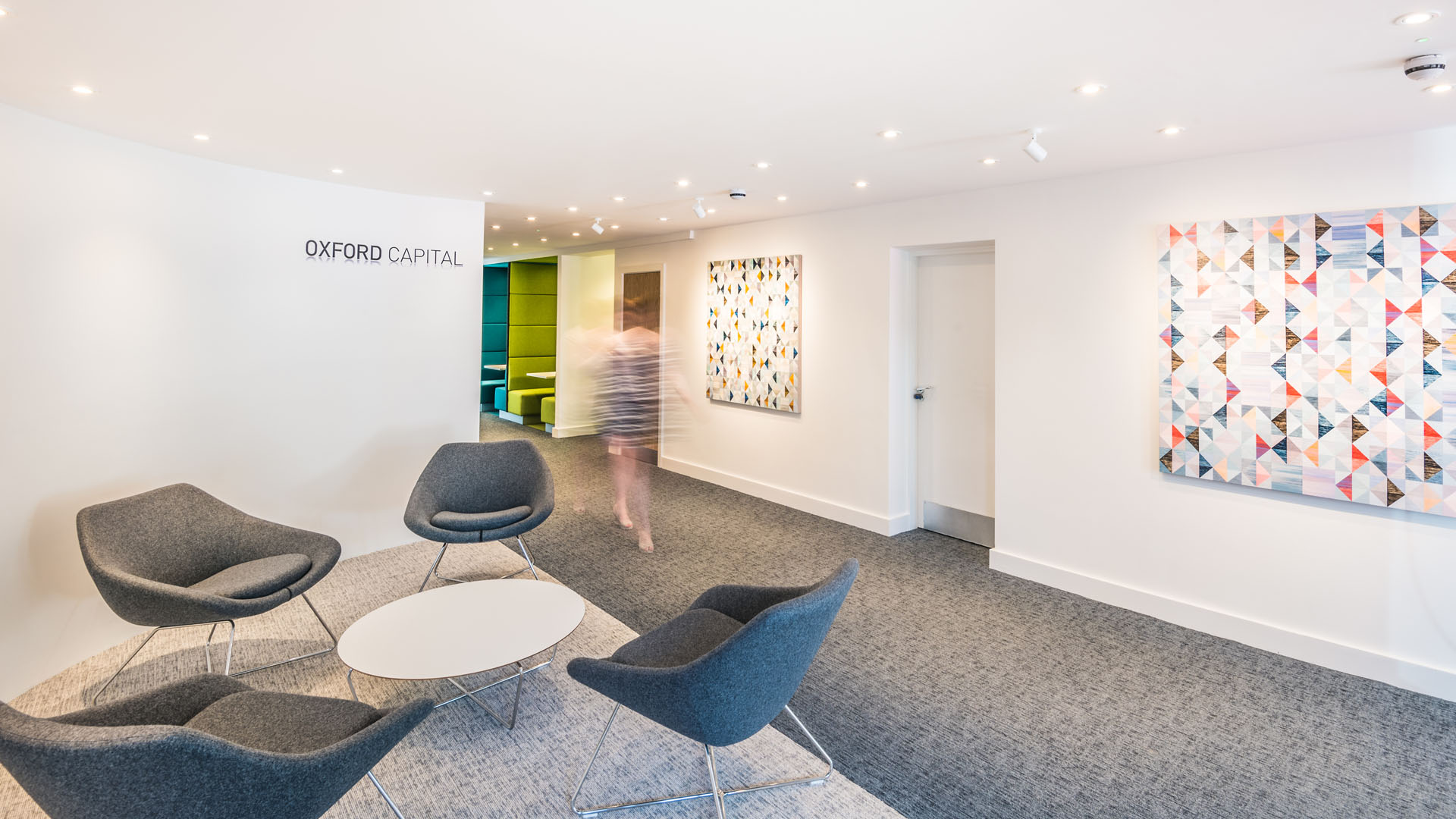 Oxford Capital – Reception