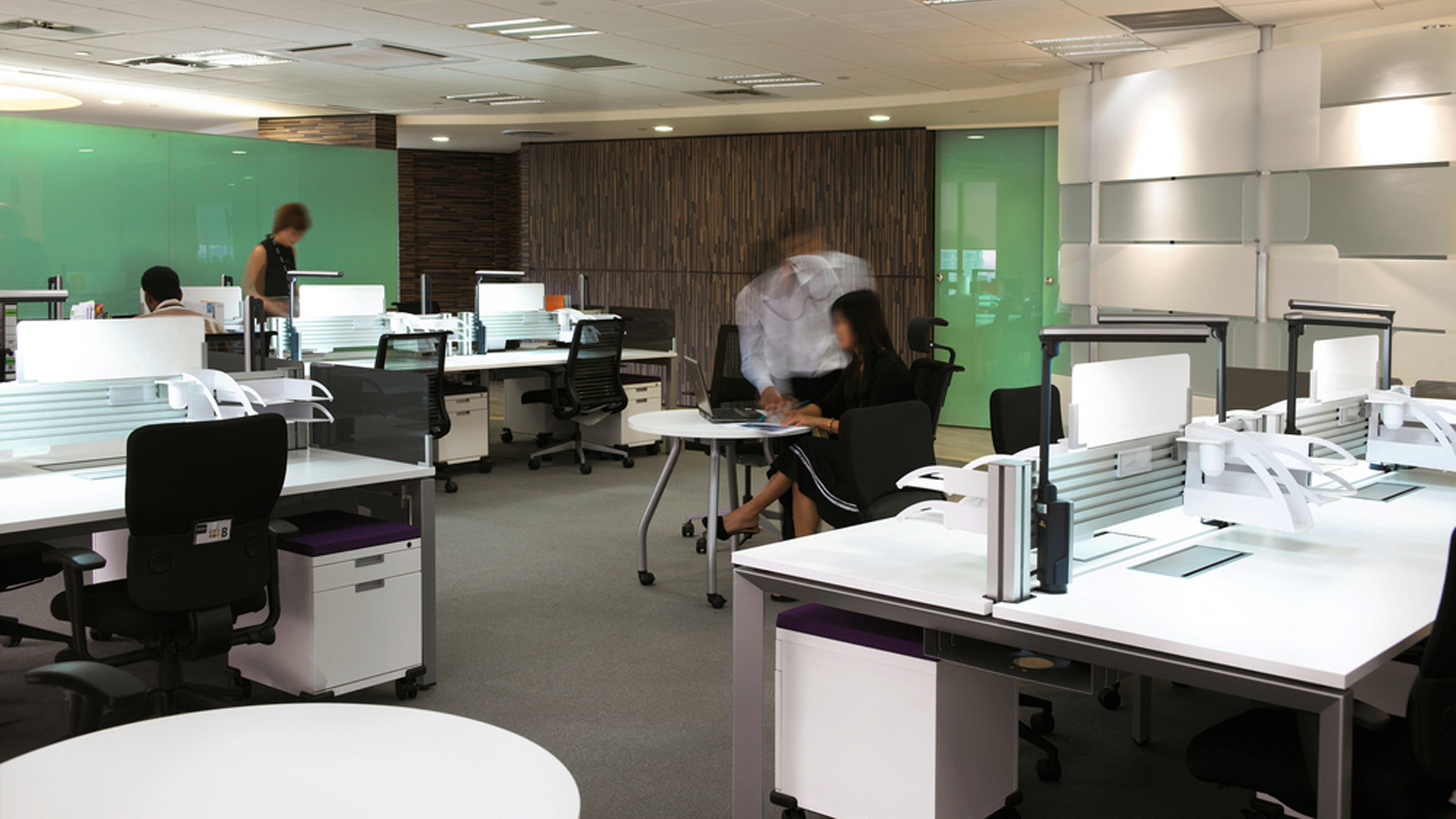 Office design fit out refurbishment uk business interiors for Office new design