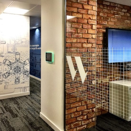 office-graphic-design-branding-culture-communication-steam-engine-watt-patent-office-walls