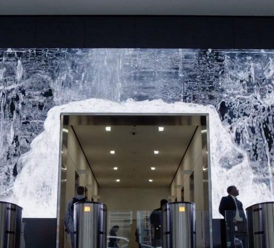 office-video-wall-led-salesforce-lobby-reception-ideas