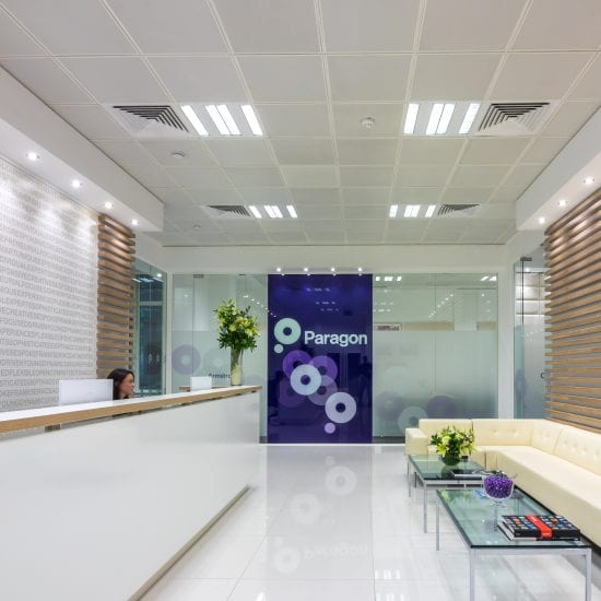 office design fit out refurbishment uk business interiors